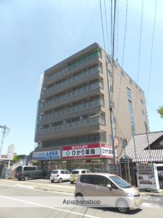 長野県長野市、長野駅徒歩25分の築17年 7階建の賃貸マンション