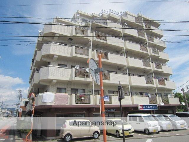 長野県長野市、市役所前駅徒歩15分の築32年 7階建の賃貸マンション