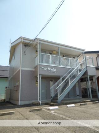 長野県長野市、今井駅徒歩35分の築19年 2階建の賃貸アパート