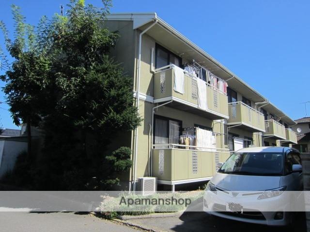 長野県長野市、篠ノ井駅徒歩5分の築25年 2階建の賃貸アパート