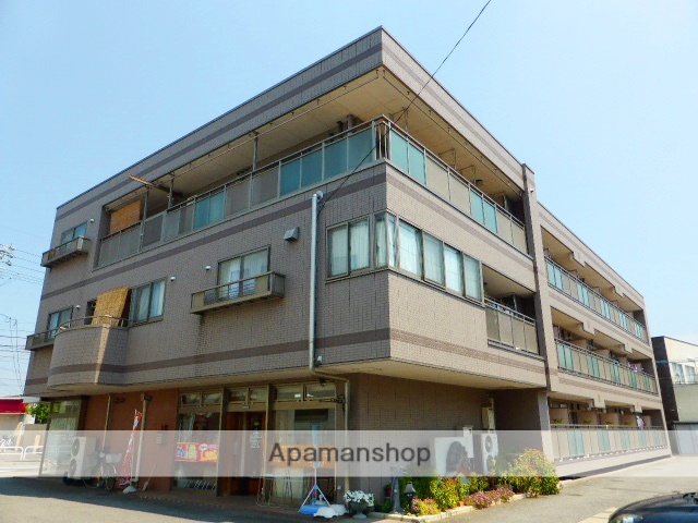 長野県長野市、篠ノ井駅徒歩7分の築18年 3階建の賃貸マンション