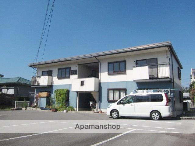 長野県長野市、市役所前駅徒歩25分の築26年 2階建の賃貸アパート