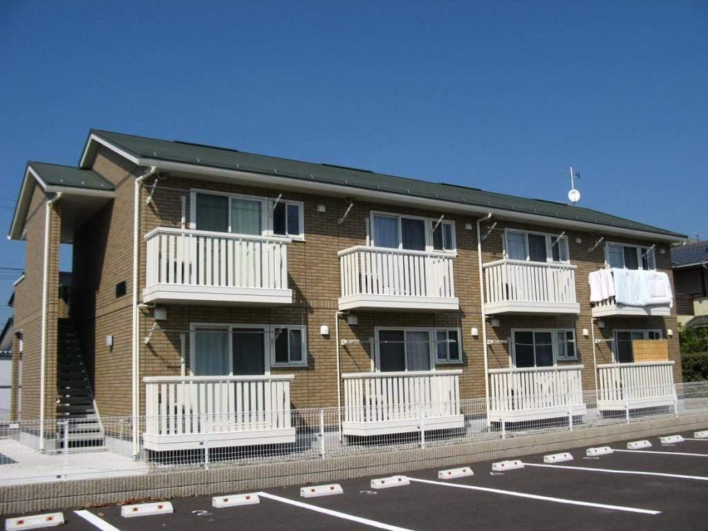 長野県長野市、朝陽駅徒歩21分の築8年 2階建の賃貸アパート