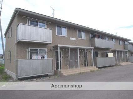 長野県中野市、延徳駅徒歩16分の築5年 2階建の賃貸アパート