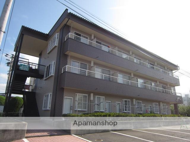 長野県須坂市、村山駅徒歩38分の築25年 3階建の賃貸マンション