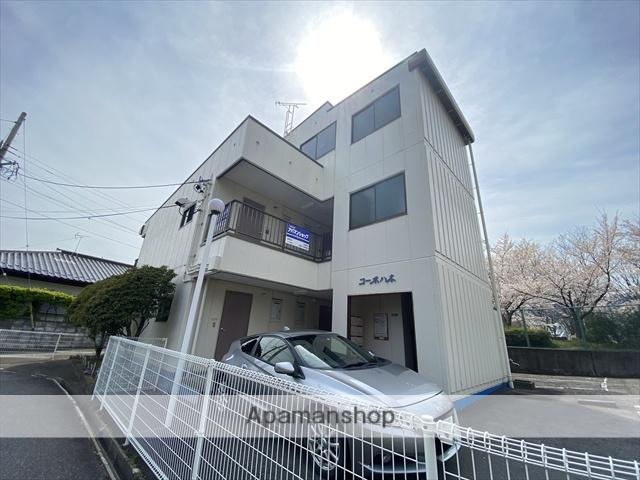 長野県長野市、善光寺下駅徒歩20分の築31年 3階建の賃貸アパート