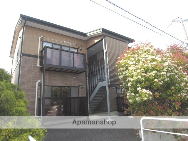 長野県長野市、北長野駅徒歩3分の築11年 2階建の賃貸アパート