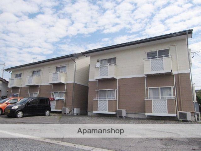長野県長野市、北長野駅徒歩16分の築23年 2階建の賃貸アパート