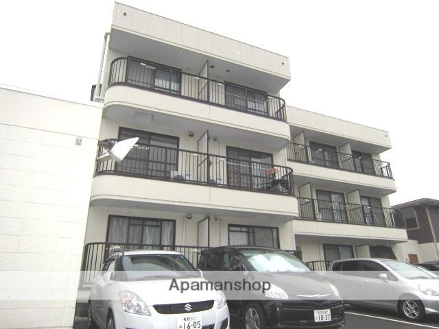 長野県長野市、権堂駅徒歩18分の築27年 3階建の賃貸アパート