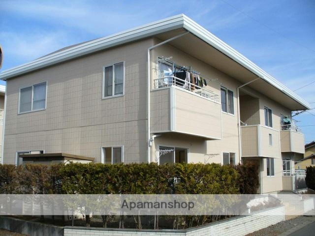 長野県長野市、北長野駅徒歩3分の築25年 2階建の賃貸アパート