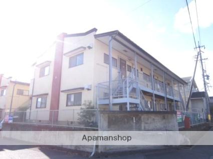 長野県長野市、北長野駅徒歩21分の築33年 2階建の賃貸アパート
