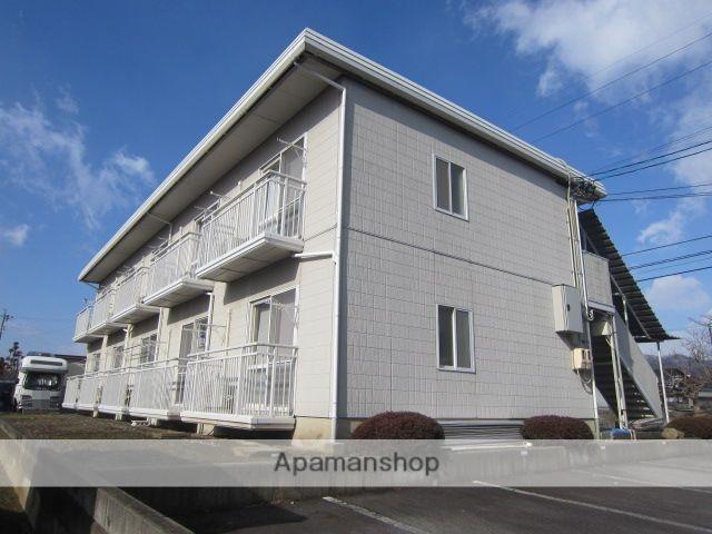 長野県長野市、北長野駅徒歩7分の築24年 2階建の賃貸アパート