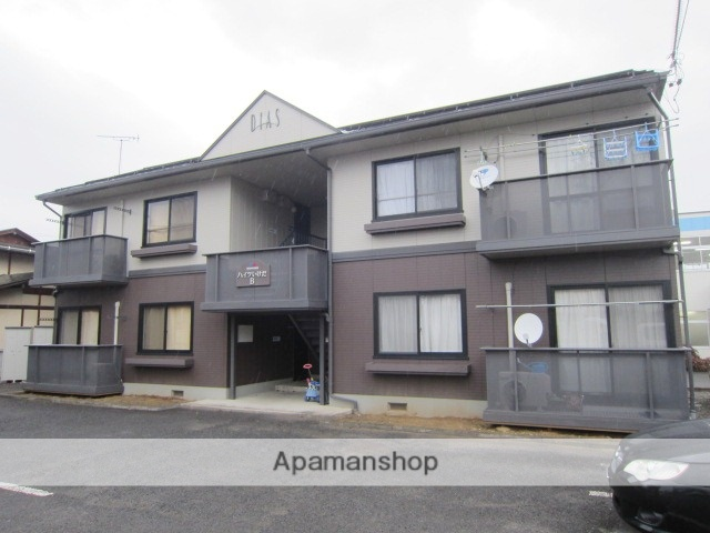長野県上高井郡小布施町、北須坂駅徒歩39分の築19年 2階建の賃貸アパート