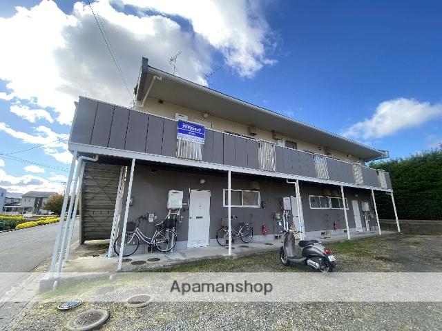 長野県長野市、市役所前駅徒歩26分の築30年 2階建の賃貸アパート