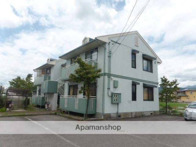 長野県長野市、北長野駅徒歩17分の築23年 2階建の賃貸アパート