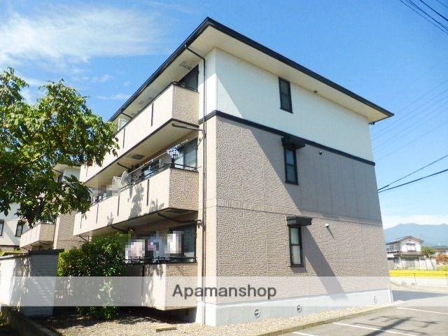 長野県長野市の築18年 3階建の賃貸アパート
