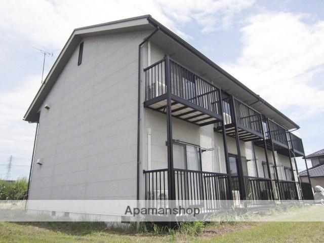 長野県長野市、三才駅徒歩15分の築27年 2階建の賃貸アパート