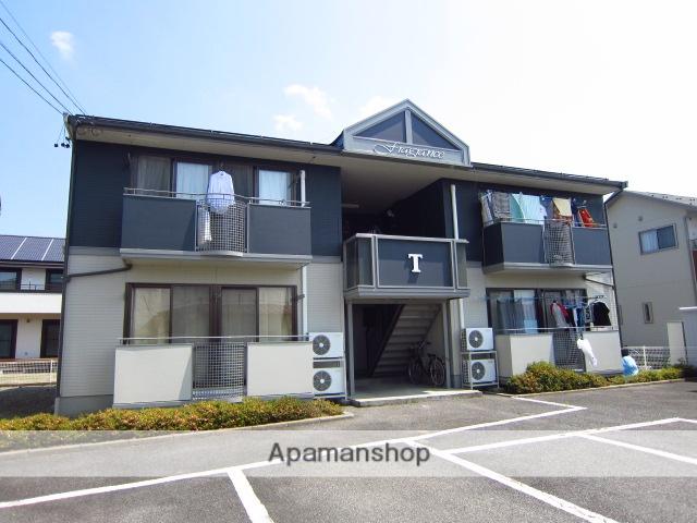 長野県長野市、北長野駅徒歩22分の築22年 2階建の賃貸アパート
