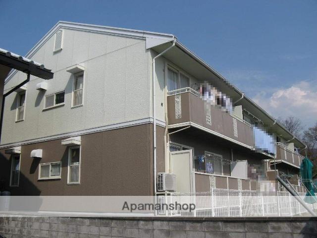 長野県須坂市、村山駅徒歩27分の築26年 2階建の賃貸アパート