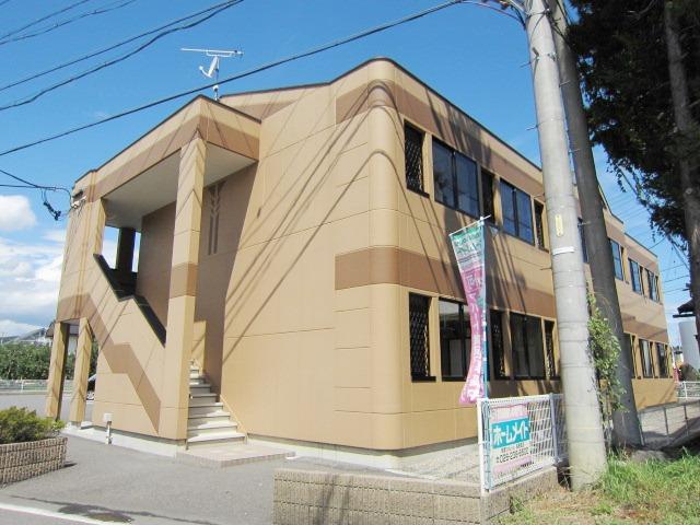 長野県長野市、豊野駅徒歩38分の築7年 2階建の賃貸マンション