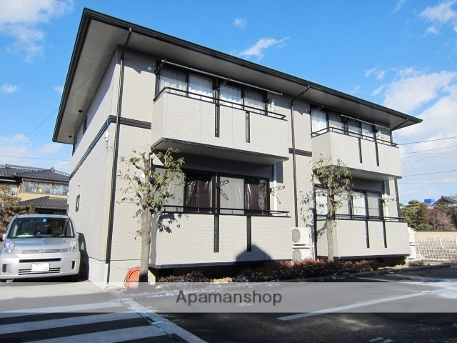 長野県長野市、市役所前駅徒歩30分の築21年 2階建の賃貸アパート