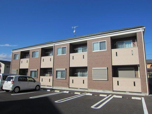 長野県須坂市、村山駅徒歩28分の築2年 2階建の賃貸アパート