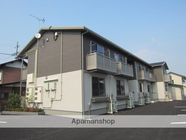 長野県長野市、三才駅徒歩8分の築2年 2階建の賃貸アパート