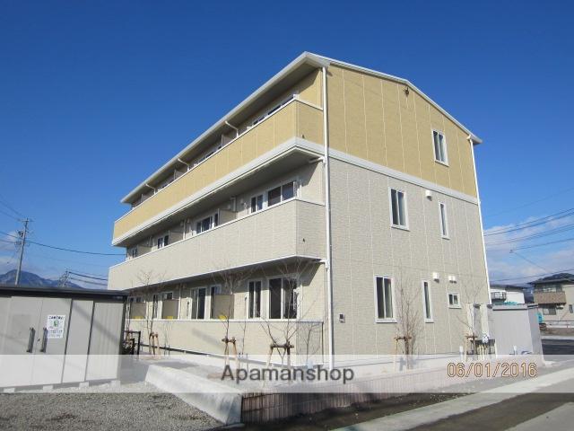 長野県長野市、北長野駅徒歩30分の築1年 3階建の賃貸アパート