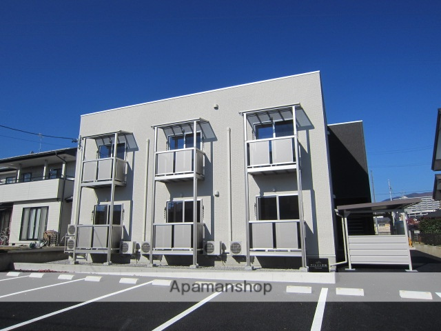 長野県長野市、北長野駅徒歩5分の新築 2階建の賃貸アパート