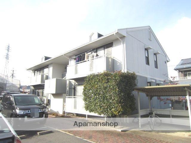 長野県長野市、三才駅徒歩15分の築23年 2階建の賃貸アパート