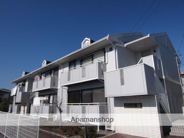 長野県長野市、市役所前駅徒歩25分の築22年 2階建の賃貸アパート