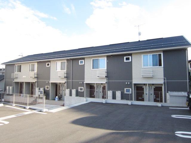 長野県長野市、善光寺下駅徒歩20分の築6年 2階建の賃貸アパート