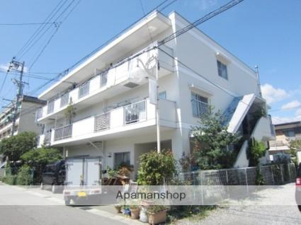長野県長野市、市役所前駅徒歩13分の築28年 3階建の賃貸マンション