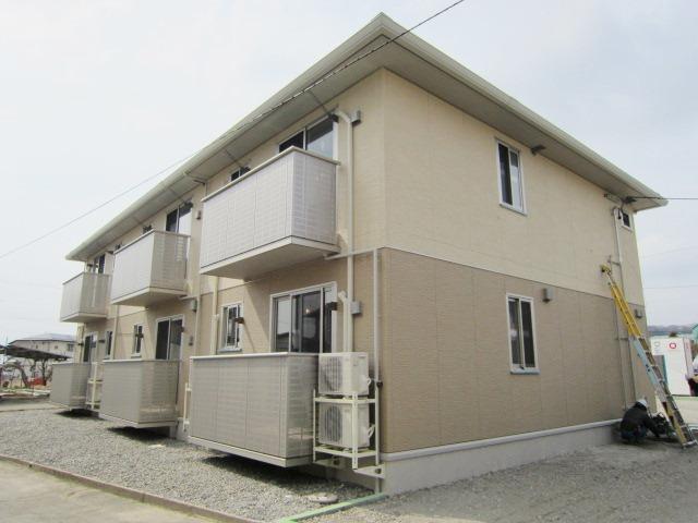 長野県中野市、延徳駅徒歩30分の築4年 2階建の賃貸アパート