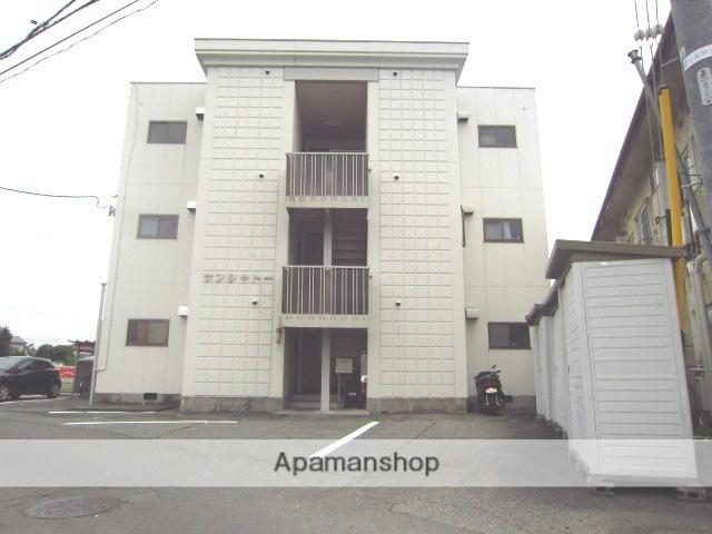 長野県長野市、権堂駅徒歩22分の築28年 3階建の賃貸マンション