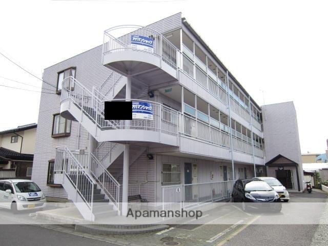 長野県長野市、北長野駅徒歩15分の築25年 3階建の賃貸マンション