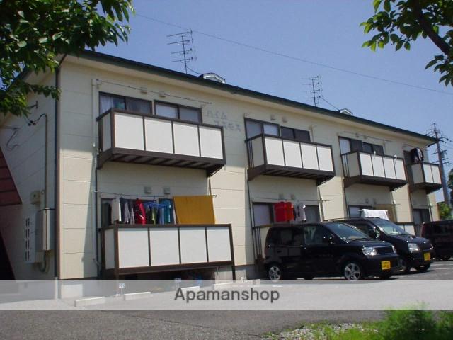 長野県長野市、北長野駅徒歩26分の築23年 2階建の賃貸アパート