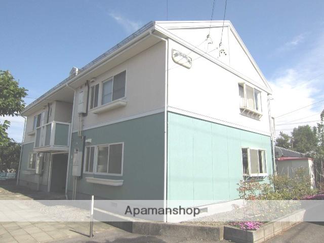 長野県長野市、北長野駅徒歩16分の築30年 2階建の賃貸アパート