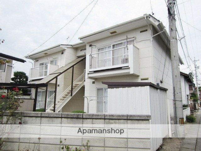 長野県長野市、北長野駅徒歩19分の築28年 2階建の賃貸アパート