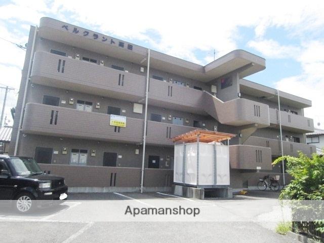 長野県長野市、市役所前駅徒歩24分の築20年 3階建の賃貸マンション