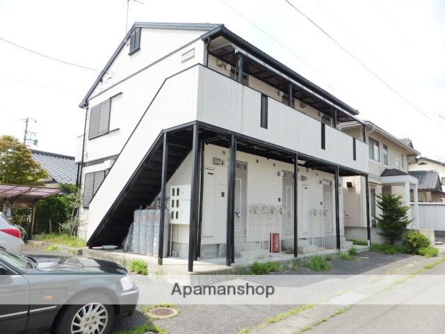 長野県長野市、北長野駅徒歩8分の築21年 2階建の賃貸アパート
