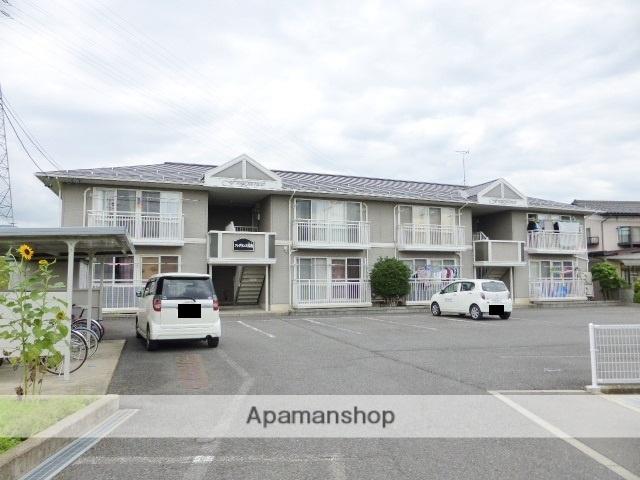 長野県長野市、三才駅徒歩14分の築21年 2階建の賃貸アパート