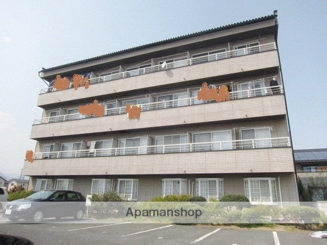 長野県長野市、長野駅徒歩38分の築27年 4階建の賃貸マンション