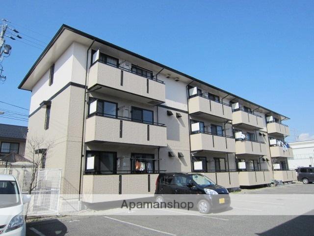 長野県長野市、北長野駅徒歩30分の築19年 3階建の賃貸アパート