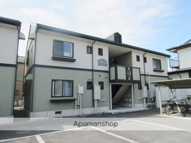 長野県長野市、北長野駅徒歩10分の築21年 2階建の賃貸アパート