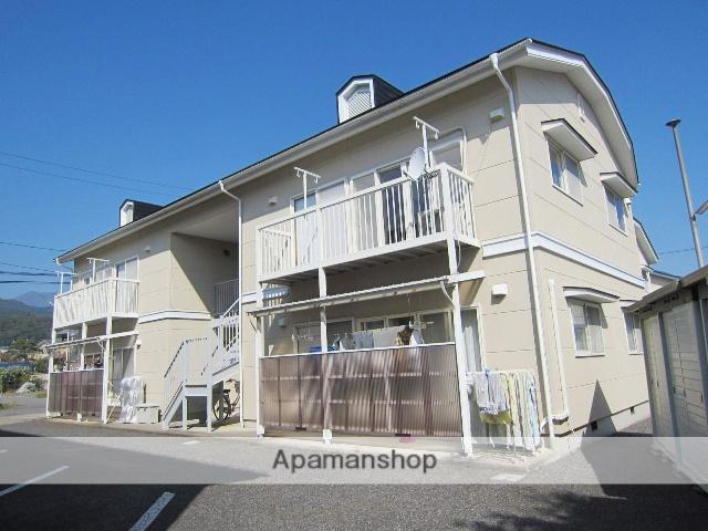 長野県長野市、北長野駅徒歩30分の築23年 2階建の賃貸アパート