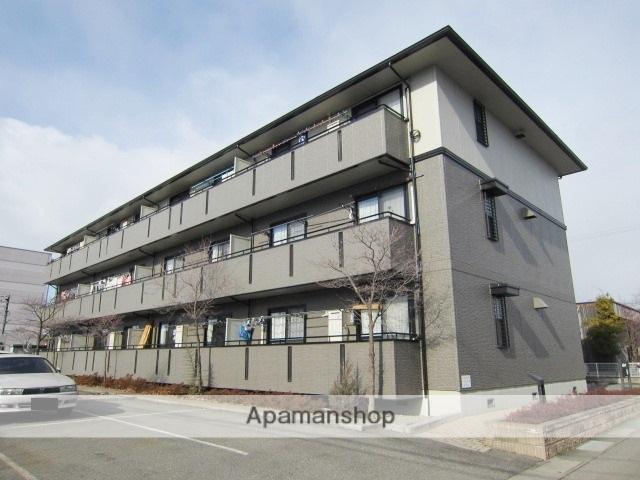 長野県長野市、北長野駅徒歩34分の築19年 3階建の賃貸アパート