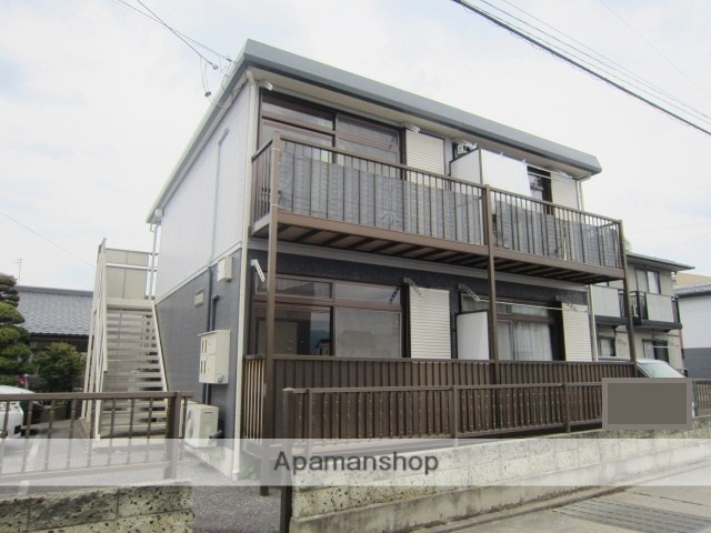 長野県長野市、北長野駅徒歩36分の築23年 2階建の賃貸アパート