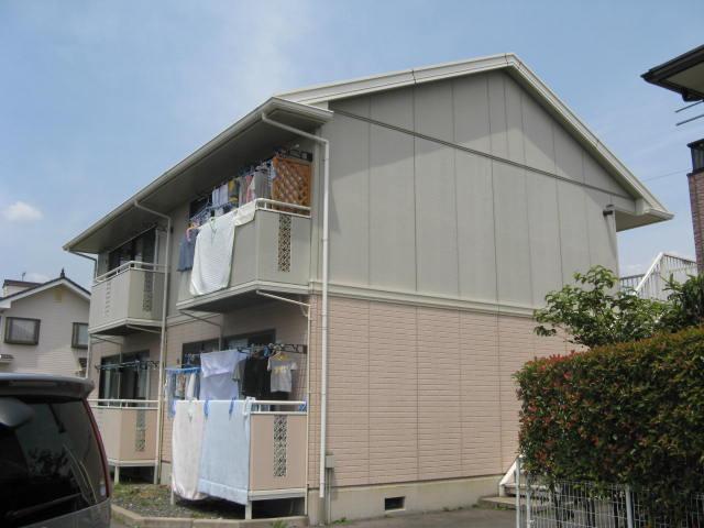 長野県長野市、朝陽駅徒歩9分の築22年 2階建の賃貸アパート