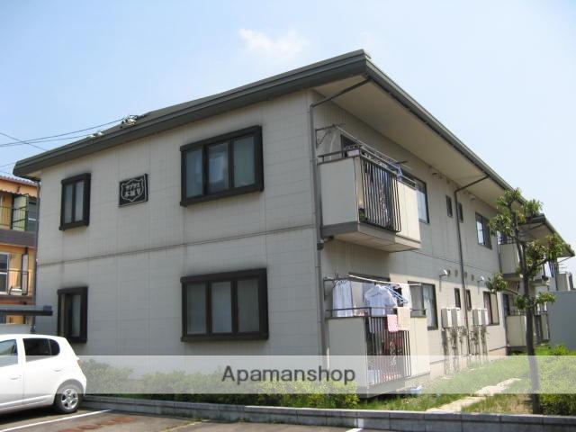 長野県長野市、桐原駅徒歩6分の築24年 2階建の賃貸アパート